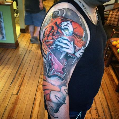 Tattoos - Tiger Tattoo - 103925
