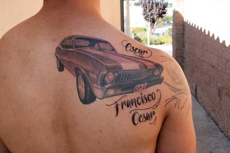 Tattoos - 71 chevy nova - 78824