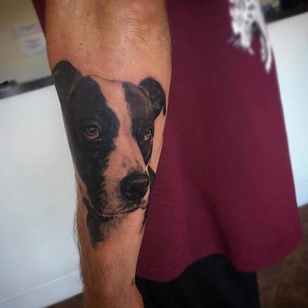 Tattoos - Dog portrait  - 111440