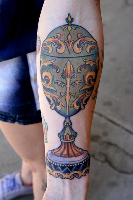 Tattoos - Faberge Egg - 79446