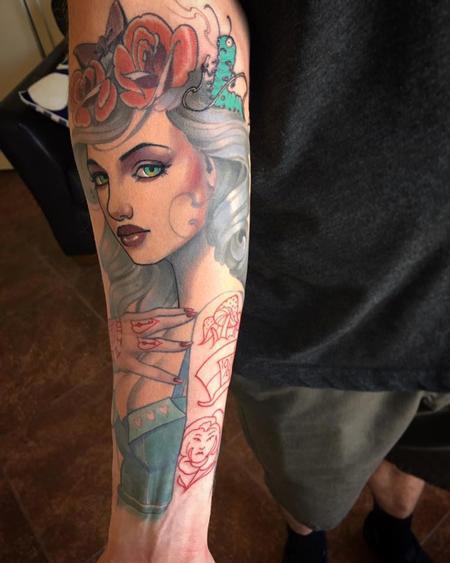 Tattoos - Alice in Wonderland - 114646