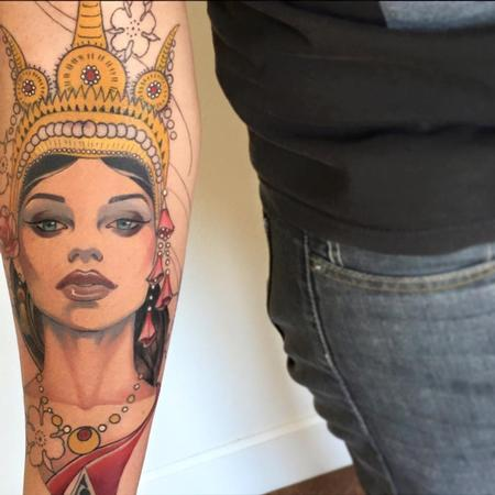 Tattoos - Apsara - 114647