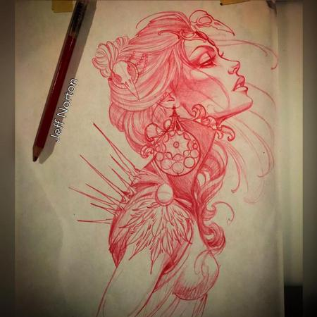 Tattoos - Tattoo sketch - 117378