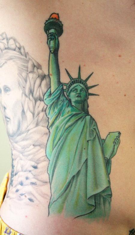 Статуя свободы тату значение на зоне