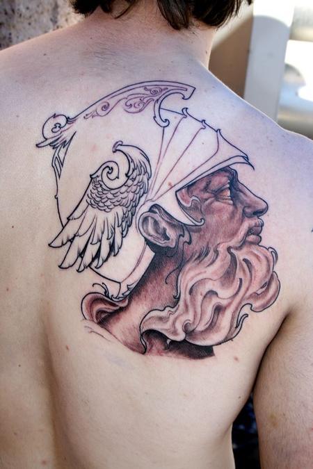 Tattoos - Roman god - 78403