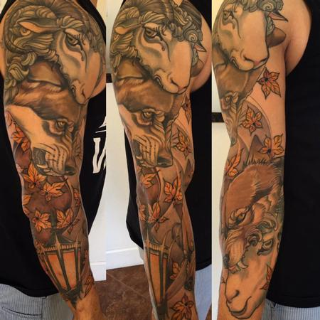 Tattoos - wolf in sheeps clothing - 116764