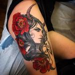 Nyx/Nott Godess on Marni from New York Tattoo Design Thumbnail