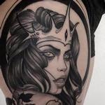 tattooed sea siren  Tattoo Design Thumbnail