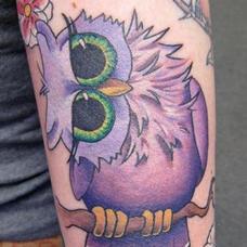 Tattoos - Cute little Owl - 90001