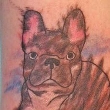 Tattoos - French Bulldog - 89805