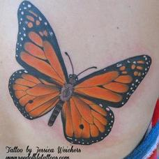 Tattoos - Monarch Butterfly  - 90072