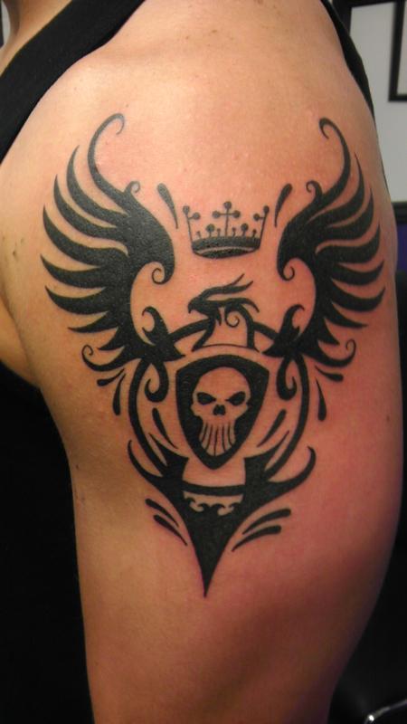 Tattoos - tribal crest - 85687