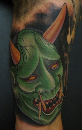 inner arm tattoo. color inner arm tattoo