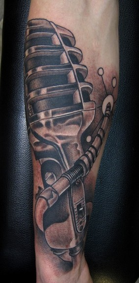 sleeve tattoo black and grey. Black and grey Vintage