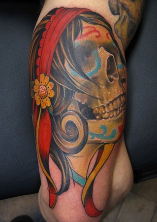 Old School Tattoos Skull