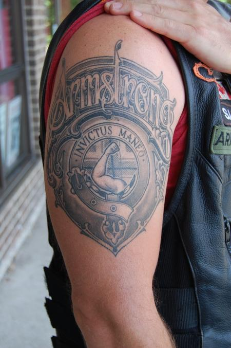 Tattoos - Armstrong Shield - 108785