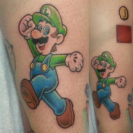 Luigi Design Thumbnail