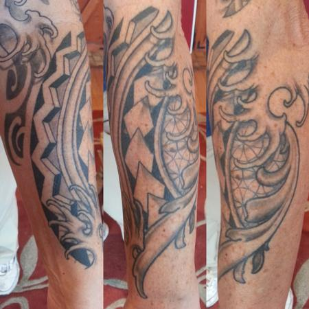 Tattoos - ornamental forearm  - 114251