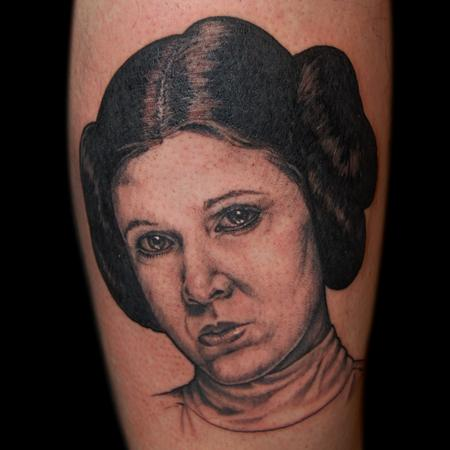 Tattoos - Princess Leia  - 126419