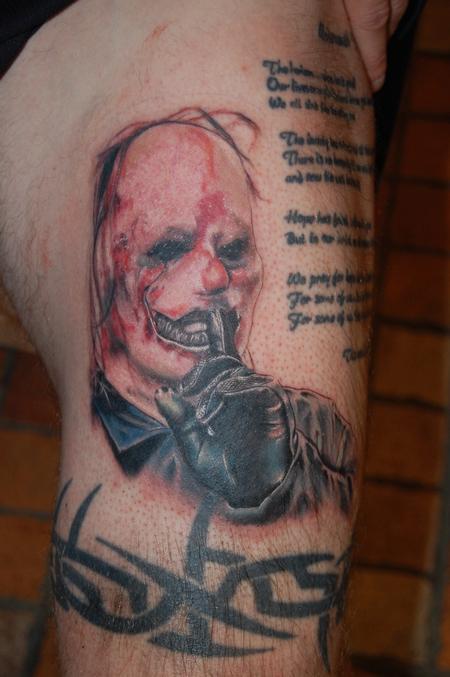 Tattoos - Slipknot Clown  - 98994