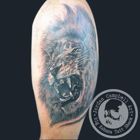 lion coverup Design Thumbnail
