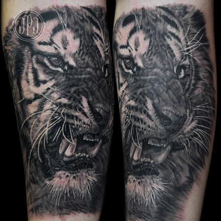 Tattoos - Tiger - 99249