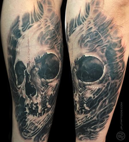Tattoos - Skull Textured - 116862