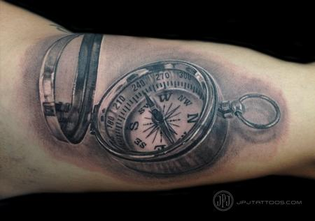 Tattoos - Compass - 116555