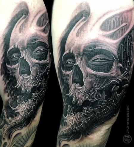Tattoos - Skull Textured - 116567
