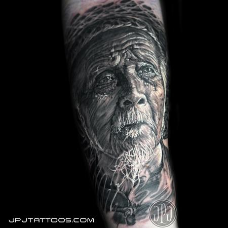 Tattoos - Old China Man - 100763