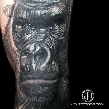Gorilla Tattoo Design Thumbnail