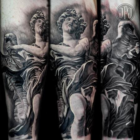Tattoos - Bernini Angel Statue - 99449