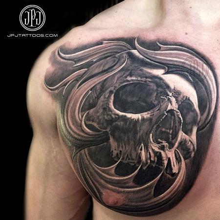 Tattoos - Skull - 101692