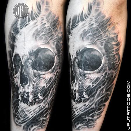 Tattoos - Freehand Skull - 100790