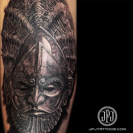 Tattoos - Ceremonial Mask - 101274