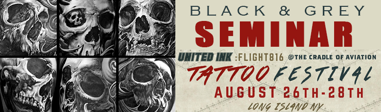 Black & Grey Seminar at United Ink August 28, 2016