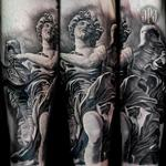 Bernini Angel Statue Tattoo Design Thumbnail