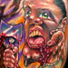 Tattoos - crazy zombie dude - 19302