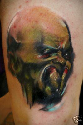 spider fangs by joshua carlton tattoonow