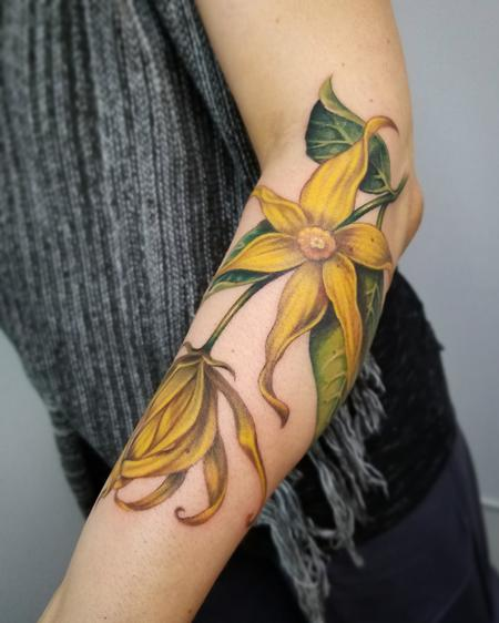 Tattoos - Ylang-ylang flower - 128140