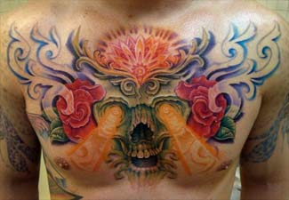 skull chest tattoo m what you need to know about chest tattoo