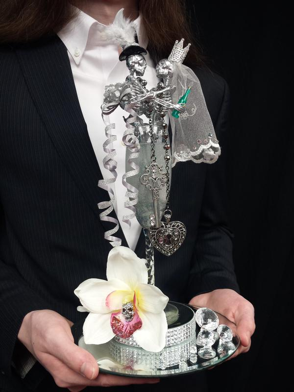 Darc Clements - Skeleton Wedding Topper