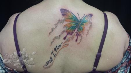 Tattoos - Majestic Butterfly - 114505