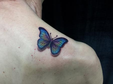 Tattoos - Butterfly - 123823
