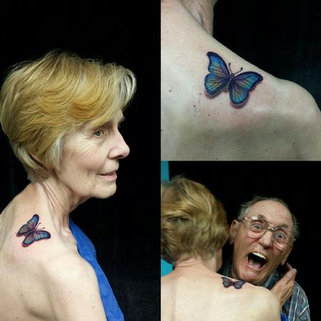 Tattoos - Butterfly - 126174