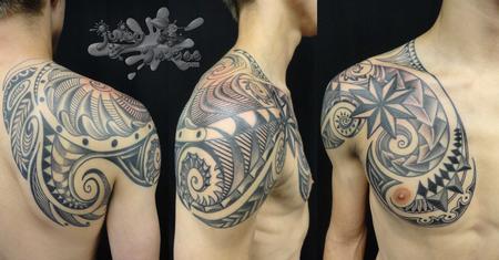 Borneo Tattoo Tattoo Design Thumbnail