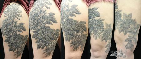 Tattoos - Flower Tattoo - 102293