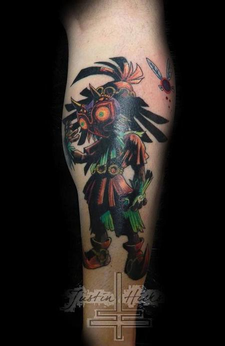 Tattoos - Skull Kid form the video game Zelda - 86651
