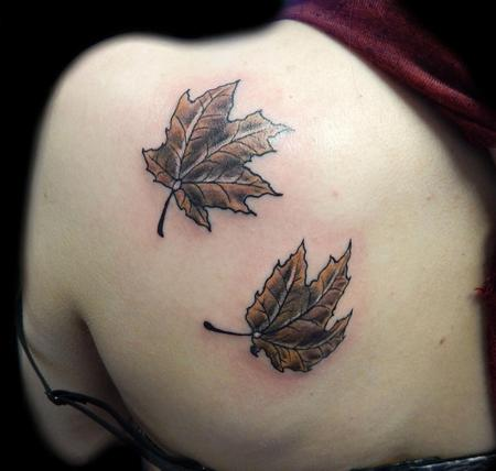 Tattoos - Maple leafs tattoo - 88967