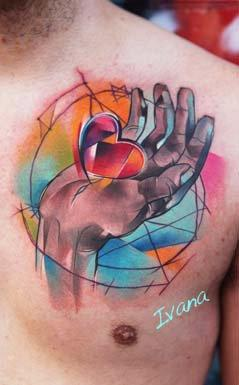 I am giving you my heart.. Tattoo Design Thumbnail